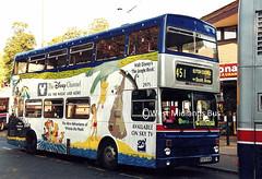 2975 (PB) E975 VUK (WMT2944) Tags: 2975 e975 vuk mcw metrobus mk2a wmpte west midlands travel