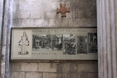 World War II Bombing Photos (oxfordblues84) Tags: france building architecture europe cathedral interior rouen gothicarchitecture frenchgothic catholiccathedral seinemaritime frencharchitecture rouencathedral hautenormandie cathedralinterior cathdralenotredamederouen roadscholar uppernormandy
