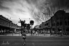 Storm over Manly Corso