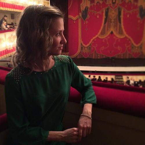 ❤️ С прекрасной женой в театре.