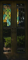 Portality (Harry Lipson) Tags: door closed entrance stainedglass portal elegant eternity brass important portality harrylipsoniii harrylipson harryshotscom totalslackerphotographycom totalslackerphotography thephotographyofharrylipson