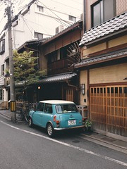 (sunnywinds*) Tags: street kyoto mini  e5       vscocam makeanalogue