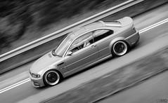BMW E46 M3 (Ben Molloy Automotive Photography) Tags: bw hk white black car photography ben automotive hong kong tei bmw vehicle mei m3 molloy tuk coupe luk e46 kemg