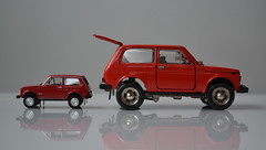 Little Niva (mitchell_dawn) Tags: scale toy model 4x4 187 lada vaz niva ussr fourwheeldrive 143 2121