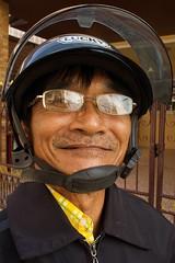 SONY3_ 081452 (andi islinger) Tags: old portrait people man thailand asia transport motorbike streetscenes isaan isan phimai