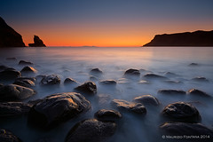 Talisker Bay (Maurizio Fontana) Tags: road street travel blue light sunset sea sky cloud lake color reflection green castle fall water colors clouds reflections river lago lights mirror scotland waterfall highlands travels nikon europa europe strada tramonto nuvole mare colore nuvola blu united fiume scottish kingdom waterfalls cielo land luci terra acqua colori riflessi isle castello viaggi viaggio luce specchio isola d800 riflesso cascate cascata scozia vedre unito regno