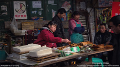 Chongqing XIII (Captain&Winnie Images) Tags: china city people woman shop store cityscape market tofu chinese lifestyle daily business dairy product foodmarket doufu