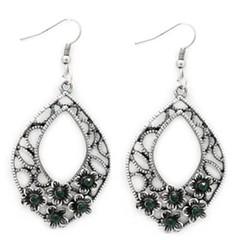 Glimpse of Malibu Green Earrings P5810A-4
