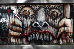 """""""It's Simple. We, uh, Kill the Batman"""" (joshuawoodhead) Tags: art wall dark graffiti nancy illegal batman joker knight"""