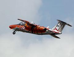 SAAB 105 (Bernie Condon) Tags: tattoo plane austria flying display aircraft aviation military jet utility airshow strike 105 saab trainer warplane ffd fairford 2014 riat airtattoo riat14
