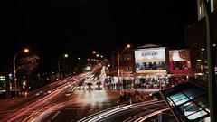 Night Traffic in Sydney (marekpanti) Tags: traffic sydney nighttraffic longexposition