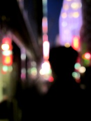into the abstract (frankieleon) Tags: city nyc newyorkcity light people ny newyork abstract blur color colors walking lights view bokeh manhattan watching blurred midtown timessquare officer sidwalk vigilent