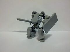 Little Knight (Foghammer) Tags: mobile frame mecha hardsuit mfz