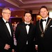 Gala Dinner Tim Fenn, CEO IHF, Minister Donohue, TD and Stephen McNally, President IHF