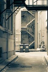 Rough (Petja Albrecht) Tags: street stairs alley australia perth fireescape rough graphiti deserted westernaustralia