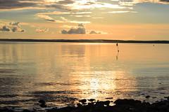 A September sunset in Pihlava island (Lake Pyhjrvi, Skyl, 20110903) (RainoL) Tags: autumn sunset lake st finland geotagged evening september fin 2011 skyl pyhjrvi satakunta pihlava 201109 20110903 geo:lat=6103967200 geo:lon=2233130000
