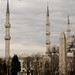 Blue Mosque (1616 AD) and  Obelisk (390 AD) on the Byzantium Hippodrome / ISTANBUL