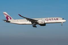 A7-ALA - Qatar Airways - Airbus A350-900 (5B-DUS) Tags: plane airplane am airport frankfurt aircraft aviation main jet 350 airbus airways flughafen flugzeug spotting fra qatar fraport planespotting luftfahrt rheinmain a359 eddf a7ala a350 a350900