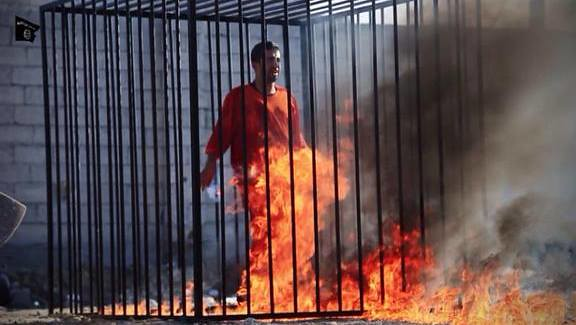 ISIS Burn Jordanian Pilot Alive (VIDEO)