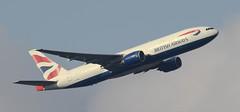 Feltham Park Departures 09R (mattyste92) Tags: travel holiday plane canon airport heathrow aircraft aviation flight 7d british ba boeing airways 777 egll 100400l deaprture