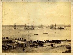 'Sydney Harbour from Fort Macquarie'
