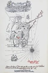 "Treasure Map in the book ""Treasure Island"" by Robert Louis Stevenson. London: Cassell & Co., 1883. First edition (lhboudreau) Tags: book treasure treasureisland pirates books stevenson pirate piracy childrensbook hispaniola childrensbooks hardcover longjohnsilver 1883 robertlouisstevenson cassell firstedition vintagebook cabinboy treasuremap vintagebooks classicnovel jimhawkins classicbook hardcovers classicbooks hardcoverbooks piratestory adventurestories spanishmain piratestories hardcoverbook classicnovels firstedtions adventurestory cassellandcompany cassellcompany cassellco"