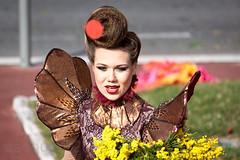 Nice Carnival 2015 (salsa-king) Tags: carnival flowers light sea food mer france hot beach weather canon nice dancing sur february bigwheel tamron eze beaulieu floats 500d 55250