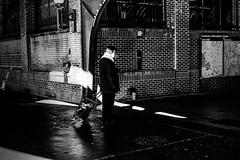 Untitled (SAGEPATCHWORK) Tags: street blackandwhite bw brooklyn zeiss coneyisland grey sony streetphotography trainstation hughes mkii killingtime sonnar carlzeiss a7ii 55mm18 mirrorless greyhughes sagepatchwork