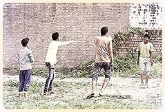 Village Kids Cricket Dispute. Punjab (Jaswinder Chohan,.) Tags: travel people india kids children cricket sikhs punjab jatt panjab hoshiarpur dhurian