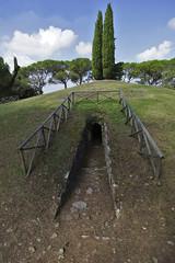 MONTE CALVARIO_1907 (opaxir) Tags: archaeology tuscany toscana etruscan tumulo archeologia etruschi castellinainchianti montecalvario