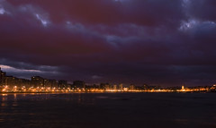 DSC_0143-2 (demianastur) Tags: espaa spain nikon san europa asturias playa paseo lorenzo gijon anochecer maritimo d3200 rinconin