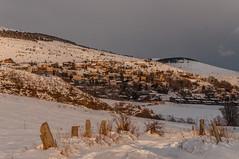 Estavar (faltimiras) Tags: sunset snow sol nieve catalunya puesta alp pyrenees neu tossa cadi posta cerdanya pirineos pirineus llivia