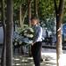 Mauricio Macri rindió un homenaje a las víctimas del atentado a la Embajada de Israel.