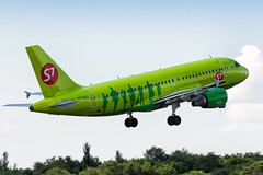 S7 A319 (denlazarev) Tags: airbus rostovondon russia urrr clouds canon s7 airlines air aviation airline airplane airport aircraft airliner sky spotting fly photo plane lightroom     oneworld a319 takeoff vehicle outdoor vpbhj