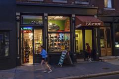 2nd Street, 2016 (Alan Barr) Tags: street people color philadelphia night evening twilight candid streetphotography olympus sp streetphoto omd 2ndstreet 2016 em5