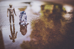 PALS (L. Paul) Tags: reflection water vintage toy toys starwars sony vintagetoys starwarstoys vintagestarwarstoys sony28mmf2 sonya6300