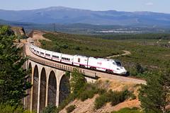 Tren Alvia Ferrol-Madrid por el viaducto del ro Truchas (ordunte) Tags: diesel directo bombardier renfe talgo robledo hbrido directogallego directozamorano serie730 bombardiertalgoserie730 viaductodelrotruchas