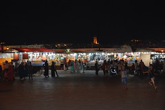 Jamaa El-Fna Square - Marrakech, Morocco (Mariasphotos) Tags: jamaa elfna square marrakech morocco medina africa godhead tour 2016 skidmore