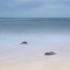Dalbeg Bay (baltibob) Tags: beach bigstopper blur calming coast hebrides isleoflewis outerhebrides rocks sand sea water waves smooth scotland unitedkingdom