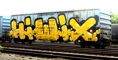 hiwix (timetomakethepasta) Tags: hiwix am freight train graffiti wholecar albany new york cmq