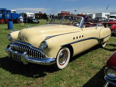 Ackworth Steam Rally 17.7.2016 (32) (bebopalieuday) Tags: ackworth steamrally buick supereight roadmaster convertible 50litre 1949 usa american classiccar pontefract westyorkshire