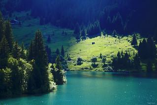 Lac de Saint-Guérin (73)