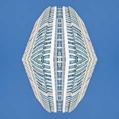 15 11 SYM Sanya 2  [ andre gansebohm] (Andre Gansebohm) Tags: blue white lines architecture experimental pattern symmetry minimal symmetric symmetrical minimalistic lensblr