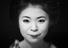 Portrait of a 16 years old maiko called chikasaya, Kansai region, Kyoto, Japan (Eric Lafforgue) Tags: 1617years 1people apprentice asia asian beautiful beauty blackandwhite chikasaya closeup clothing confidence culture darkbackground elaborate eyes face female feminine front geisha gion grace hair hairstyle horizontal indoors japan japan161935 japanese japaneseethnicity kanzashi kimono komayaokiya kyoto lookingatcamera maiko makeup oneperson oneyoungwomanonly oriental painted portrait pretty solitary teen teenager tradition white woman young youngadult youngwoman kansairegion giappone   japo japonia japonsko japonya jepang jepun  oo