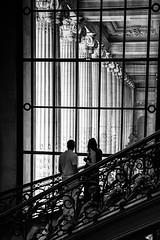 Grand Palais, Paris (mariefrance2010) Tags: paris window monument silhouette architecture stairs streetphotography landmark grandpalais columnslines