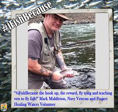 Mark Middleton (USFWS Pacific) Tags: fishing flyfishing usfws ifishbecause