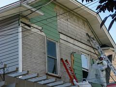 Demolition Series III (prima seadiva) Tags: demolition development 22nd asbestos