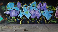 Slam (Alex Ellison) Tags: northlondon mhb urban graffiti graff halloffame hof ctr cityrollers slam tbf thebufffails cp5 dci boobs