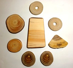 Handmade jewelry findings, collection of wood jewelry supplies. Assorted mixed natural wood. Jewelry supply accessories, for jewelry makers. (john bonham2) Tags: jewelryfindings jewelrysupplies wood natural wooden mix slices for jewelry making parts necklaces pendants