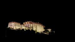 Tibet, the Potala palace at night (Lhasa, China), 06-2016, 11 (Vlad Meytin, vladsm.com) (Vlad Meytin | Instagram: vmwelt) Tags: pictures china old sky mountain black building brick castle rock clouds temple photography asia traditional hill chinese palace tibet monastery tibetan  lhasa potala   potalapalace blacksky  chengguan   khimporiumco meytin vladmeytin vladsm vladsmcom